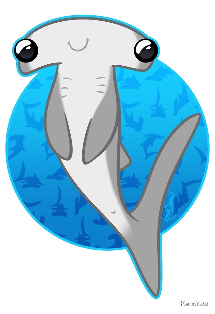 Happy Hammerhead by Kendraw