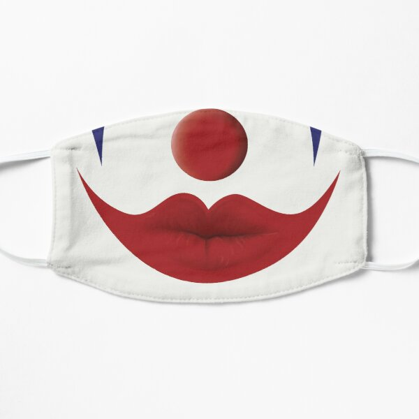 Clown Face Mask Flat Mask