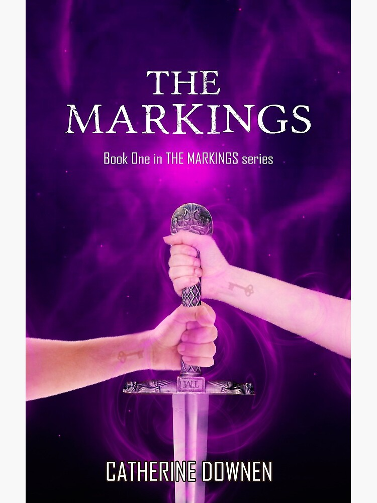 The Markings Book Cover by catherinedownen
