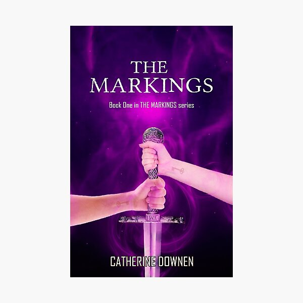 The Markings Book Cover Photographic Print
