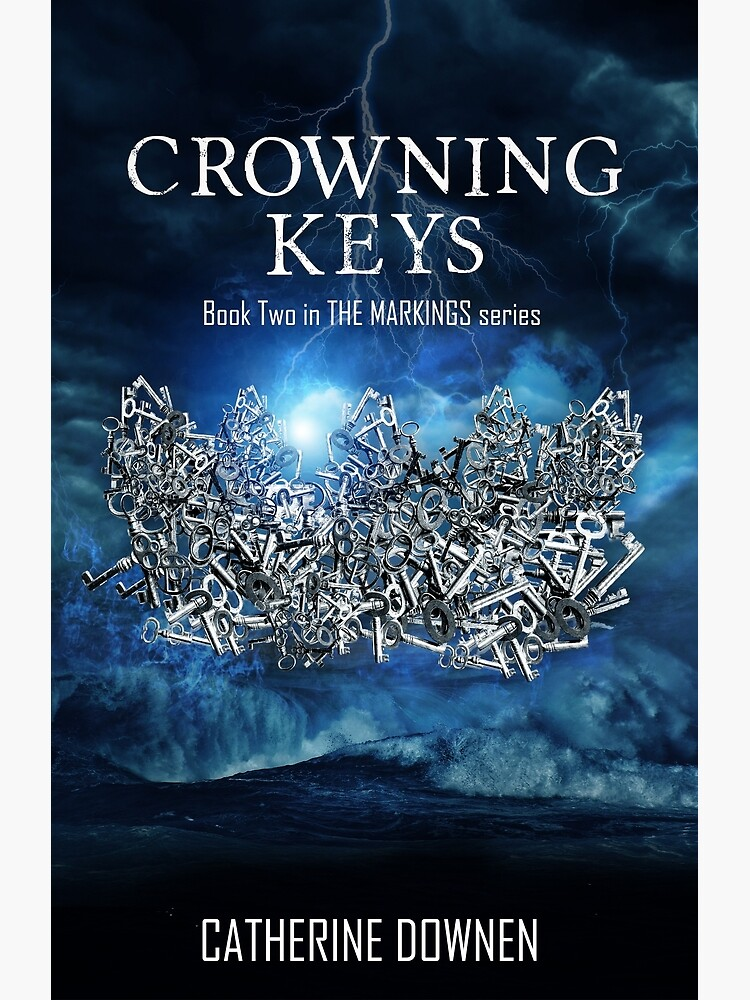 Crowning Keys Book Cover by catherinedownen