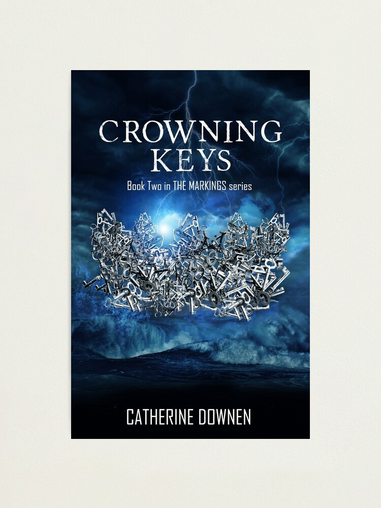 Alternate view of Crowning Keys Book Cover Photographic Print