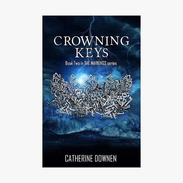 Crowning Keys Book Cover Photographic Print