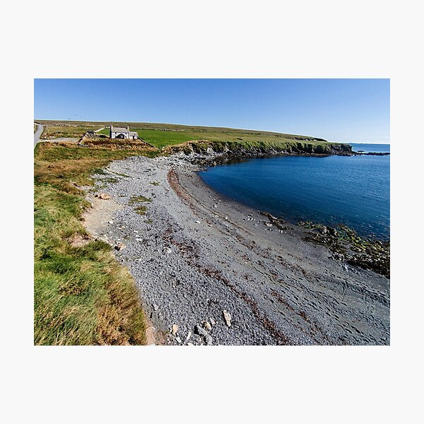 Aith Beach, Fetlar, Shetland Islands Photographic Print