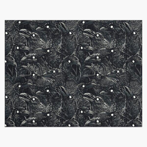 Raven pattern 2 Jigsaw Puzzle