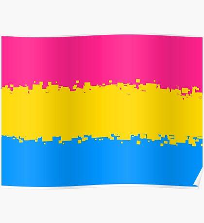 Pansexual Pride Flag Poster