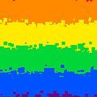 Gay Pride Flag- Retro by cadellin