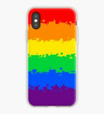 Gay Pride Flag- Retro iPhone Case