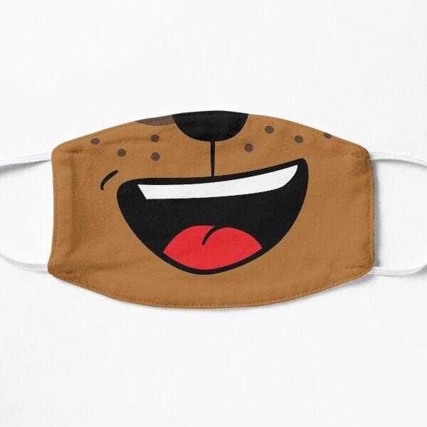 Cartoon Dog Face Flat Mask
