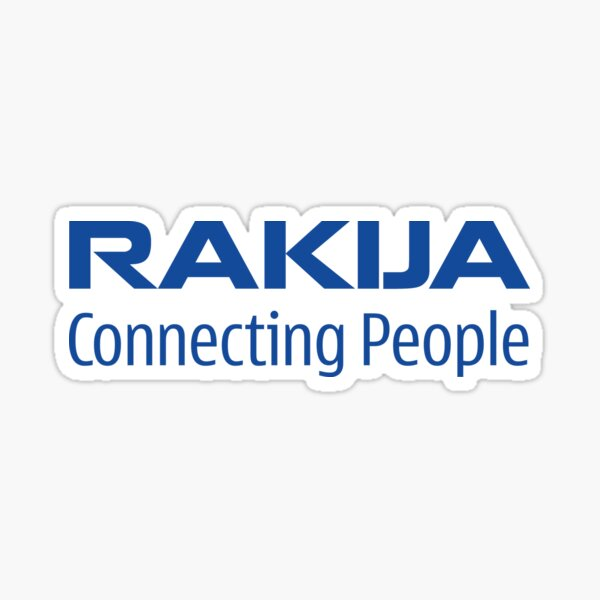 RAKIJA CONNECTING PEOPLE Sticker