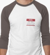 Name's Oliver Men's Baseball ¾ T-Shirt