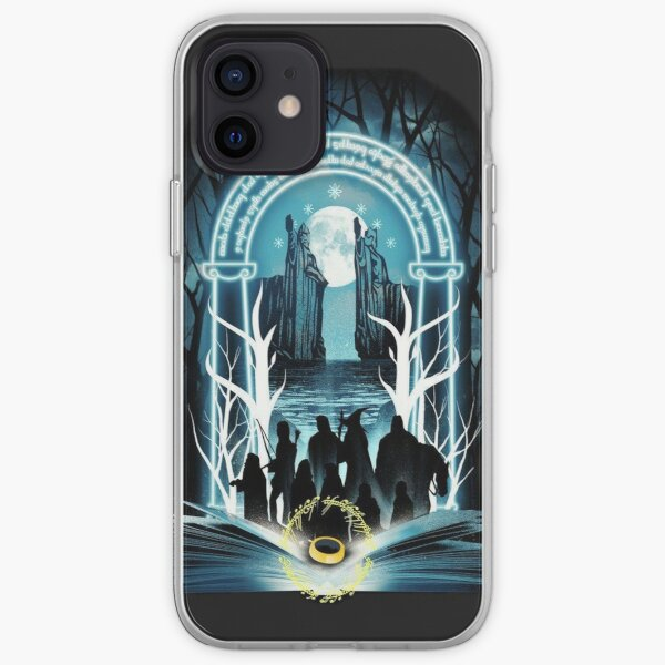Fellowship of the ring iPhone Soft Case