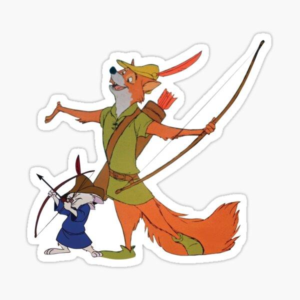 Robin Hood & Skippy Sticker