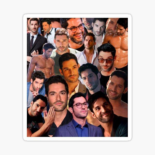 Tom Ellis Photo Collage Sticker