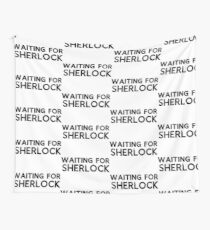 Waiting for Sherlock Wall Tapestry