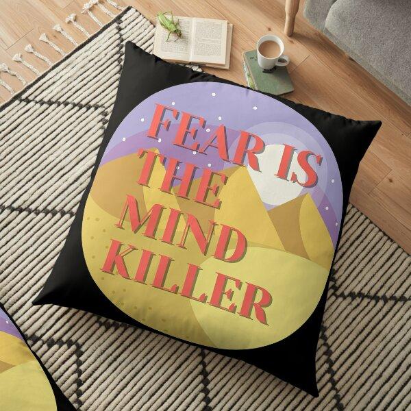 Dune fear is the mind killer Floor Pillow