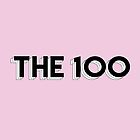 The 100 - Typography (Pink) by alyciadebnam