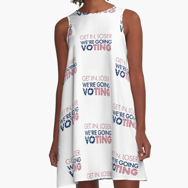 We're Going Voting A-Line Dress