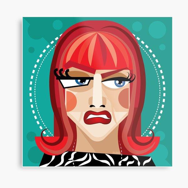 Miss Coco Peru by Raziel #2 Metal Print