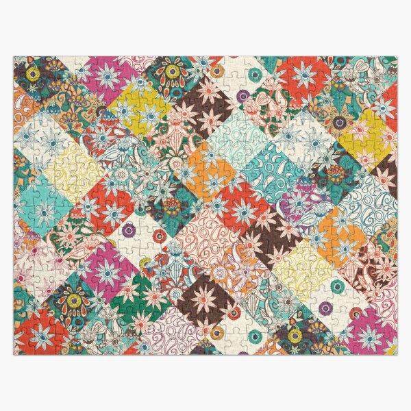 sarilmak patchwork Jigsaw Puzzle