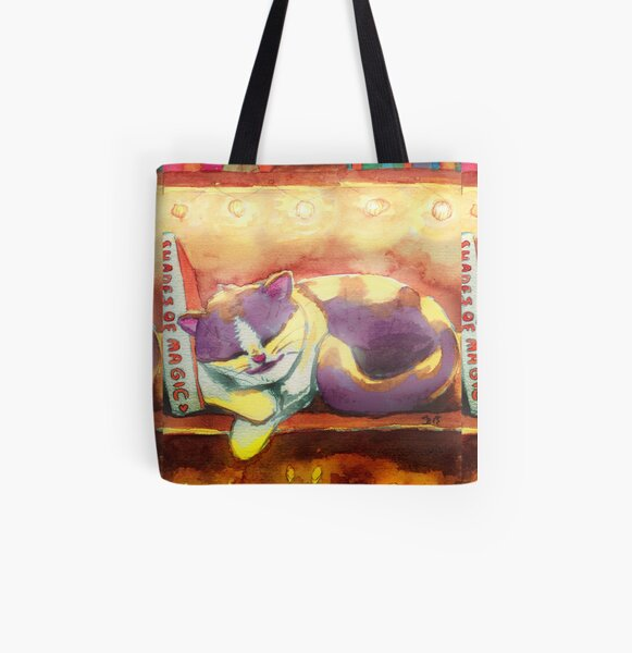 Halloween | Cozy Naps All Over Print Tote Bag