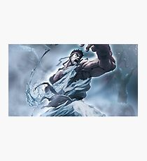 Ryu Storm style - Street Fighter Photographic Print