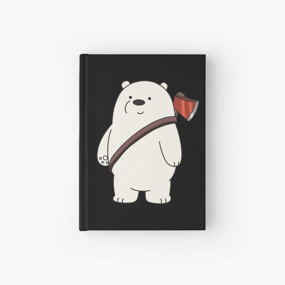 Ice Bear Hardcover Journal