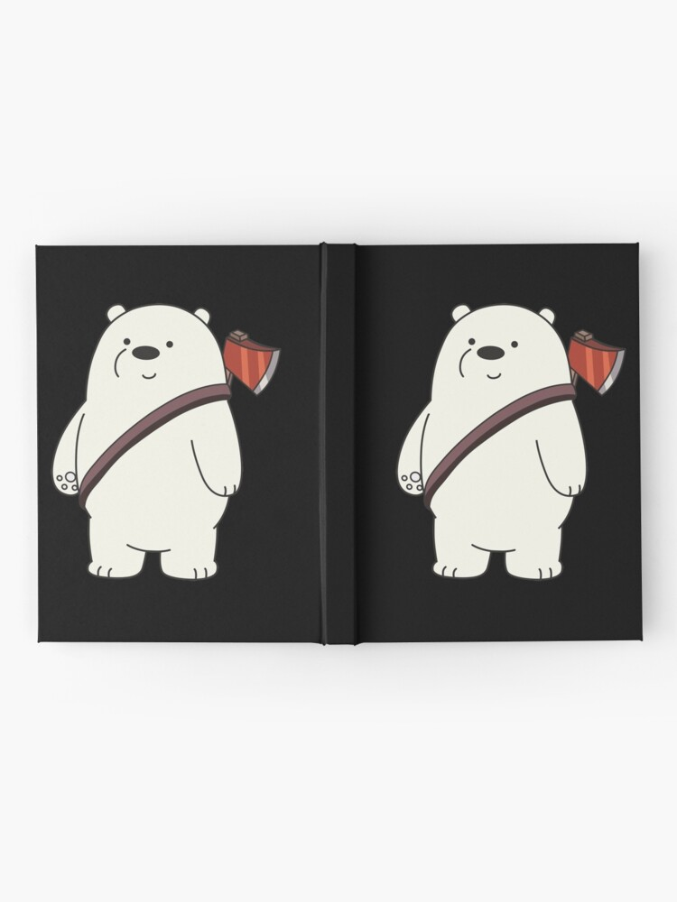 Alternate view of Ice Bear Hardcover Journal