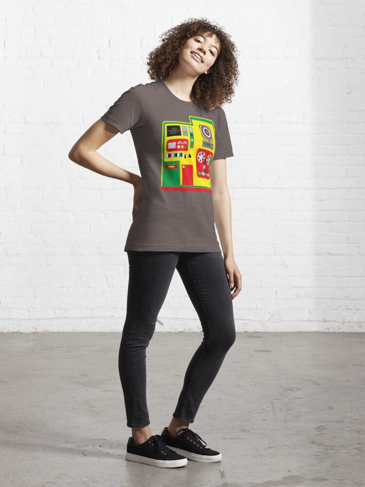 Alternate view of NDVH Chock-A-Block Essential T-Shirt