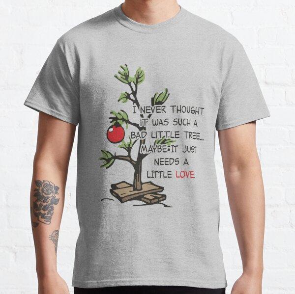 Charlie Brown Christmas Tree Classic T-Shirt