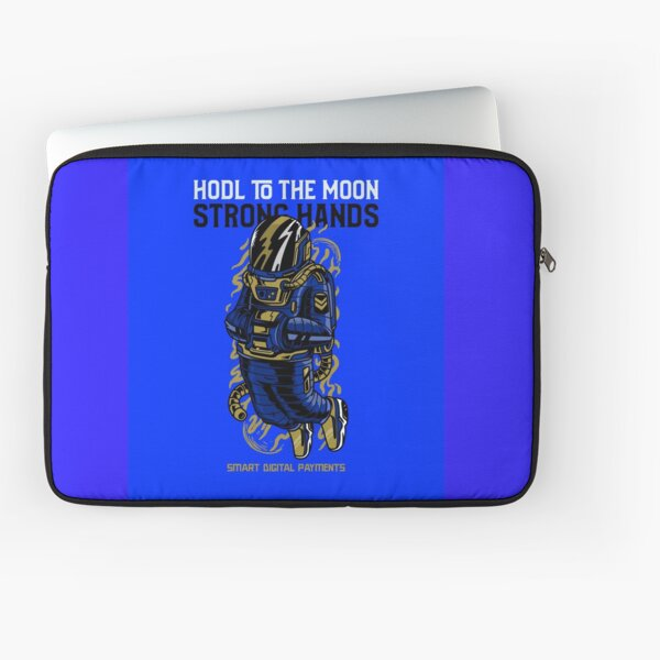 Hodle To The Moon Laptop Sleeve