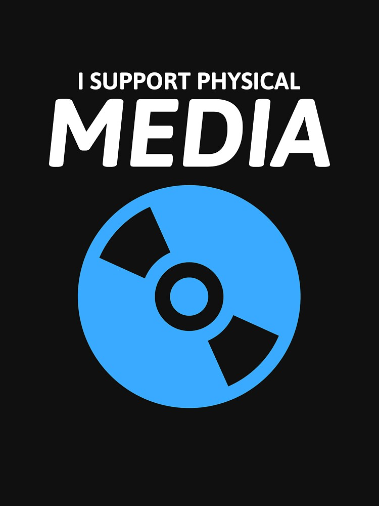 I Support Physical Media by Popcorncinema