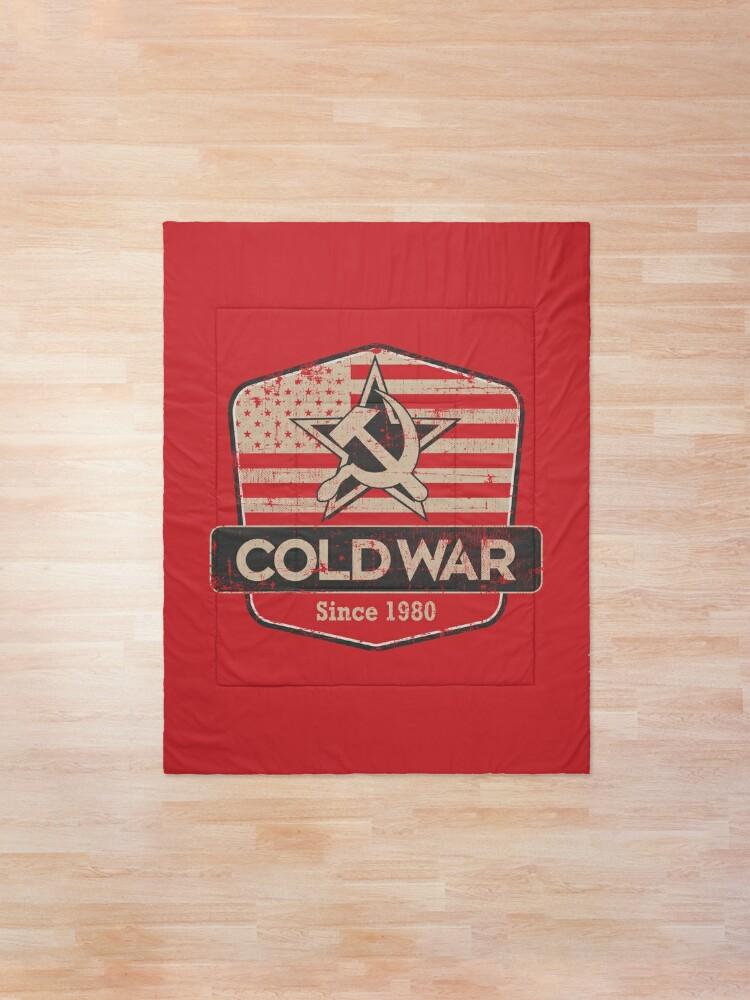Alternate view of Black Ops Cold War, Since 1980 Comforter