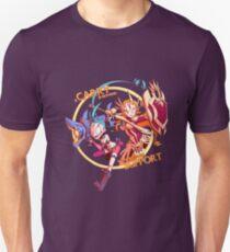 Carry Needs Support - Jinx & Leona Unisex T-Shirt