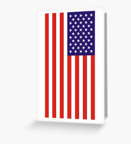 US National Flag Greeting Card