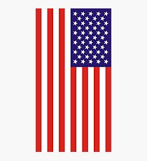 US National Flag Photographic Print