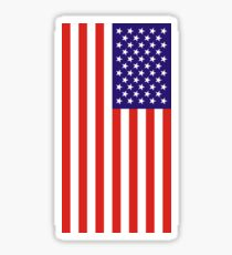 US National Flag Sticker