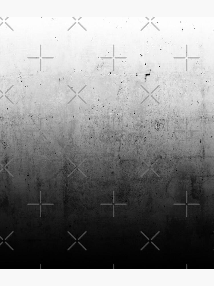 Black Ombre on Concrete Texture by cafelab