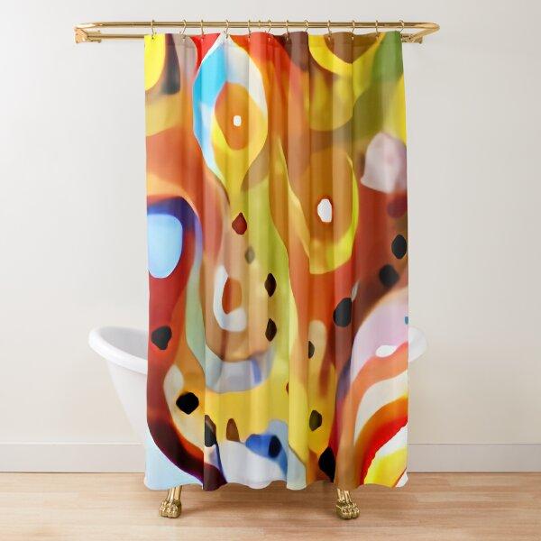 Autumn Fenestration Shower Curtain