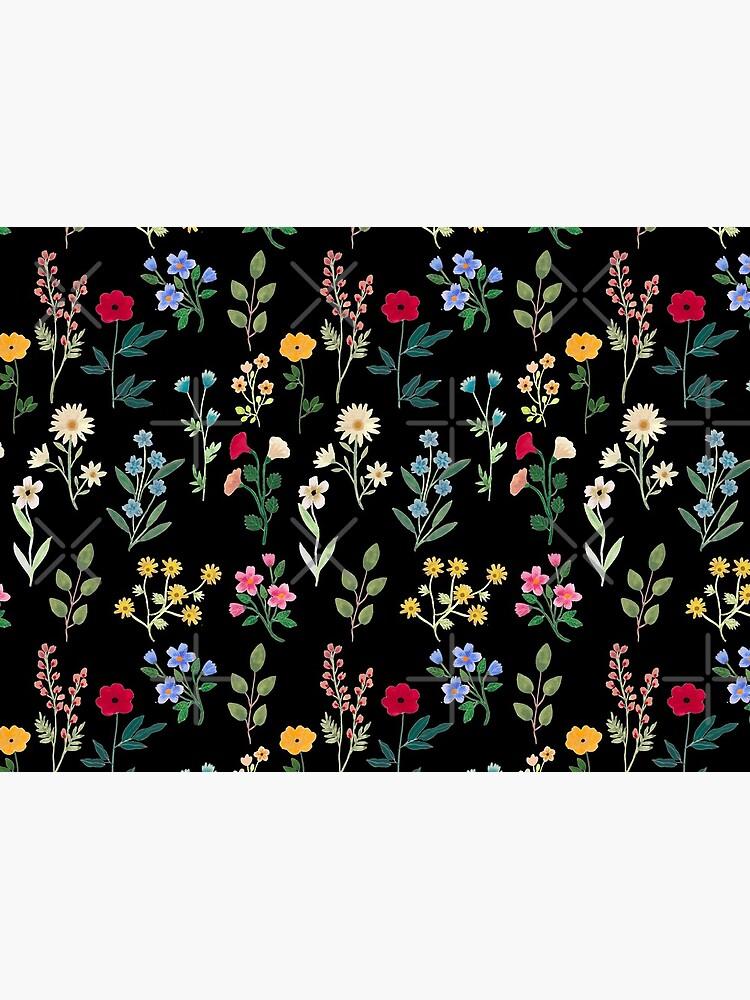 Spring Botanicals Black by artiisan
