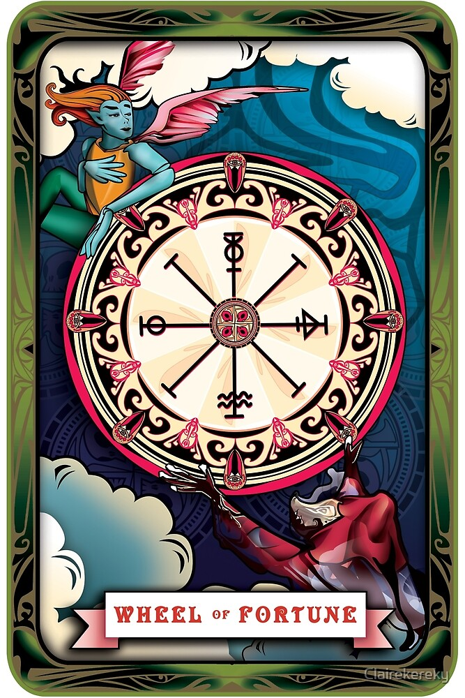 Wheel Of Fortune by Clairekereky