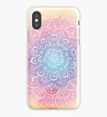 Rainbow Dust Mandala iPhone Case/Skin