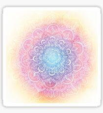 Rainbow Dust Mandala Sticker