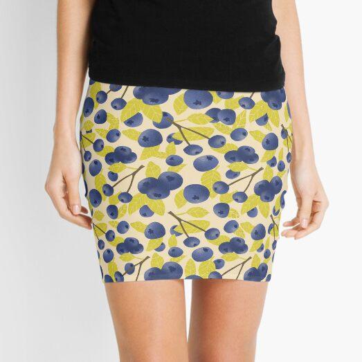 Blueberry Blast Mini Skirt