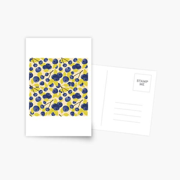 Blueberry Blast Postcard