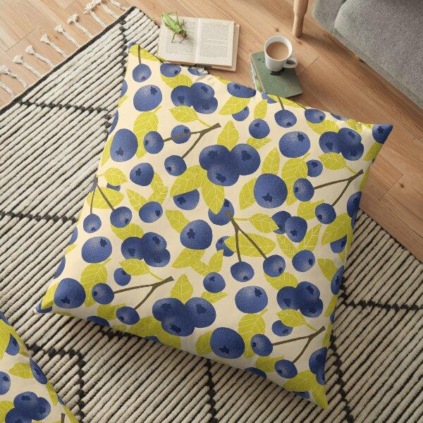 Blueberry Blast Floor Pillow