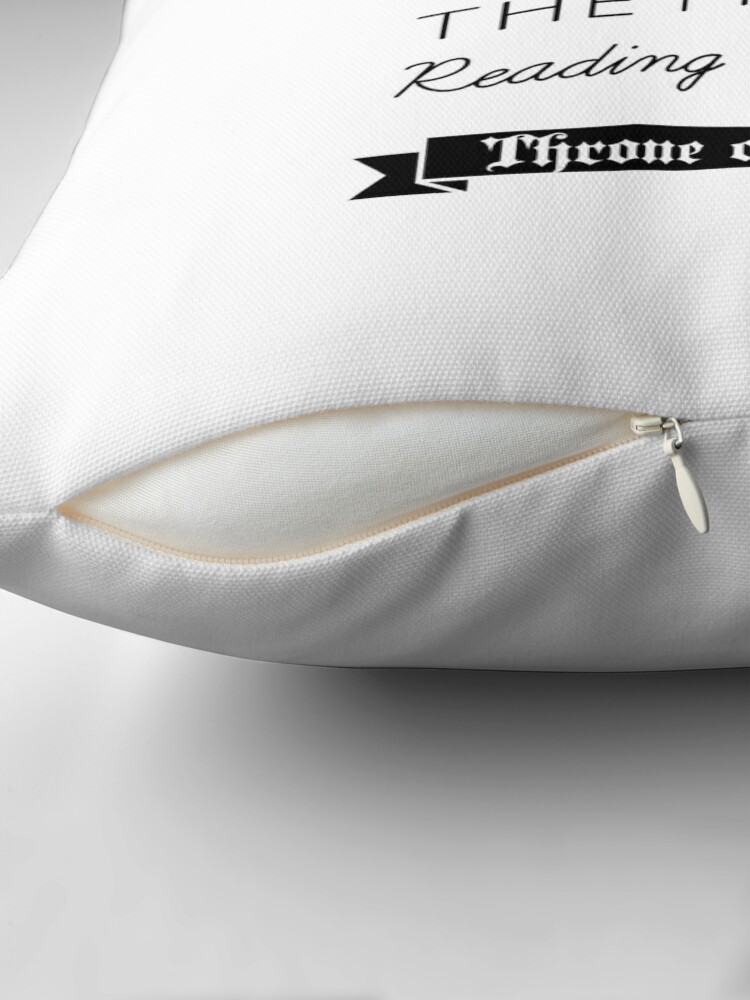 Alternate view of Throne of Glass - Quote Throw Pillow