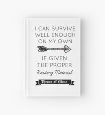 Throne of Glass - Quote Hardcover Journal