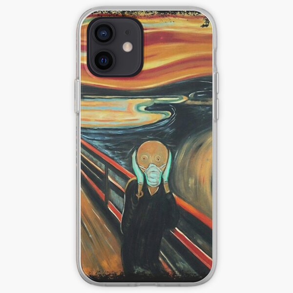Safe Scream iPhone Soft Case