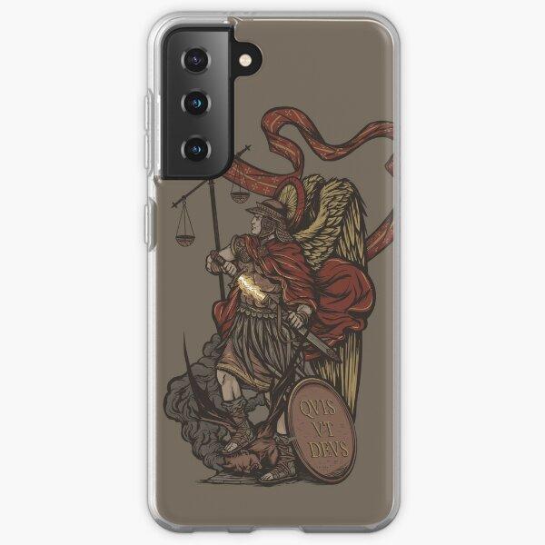 Saint Michael the Archangel Samsung Galaxy Soft Case